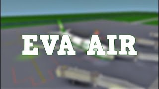 ROBLOX | Vol de Boeing 747 EVA Air