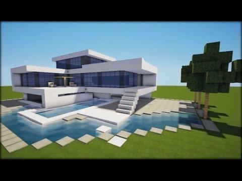 Como descargar e instalar casas o cualquier estructura for Minecraft case moderne