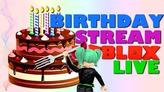 Roblox LIVE *It's My Son's Birthday!* Lunch with SallyGreenGamer