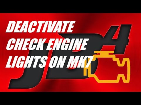 Remove downpipe check engine using JB4 on MK7