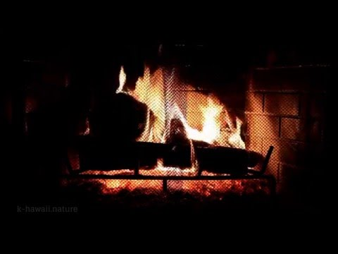 3 Hours ☆ The Best Fireplace with Crackling Fire Sounds ☆ Relaxation, Deep Sleep & Wellness
