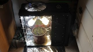 How To Make A Pc Grow Box With A Computer Case (antec 900)