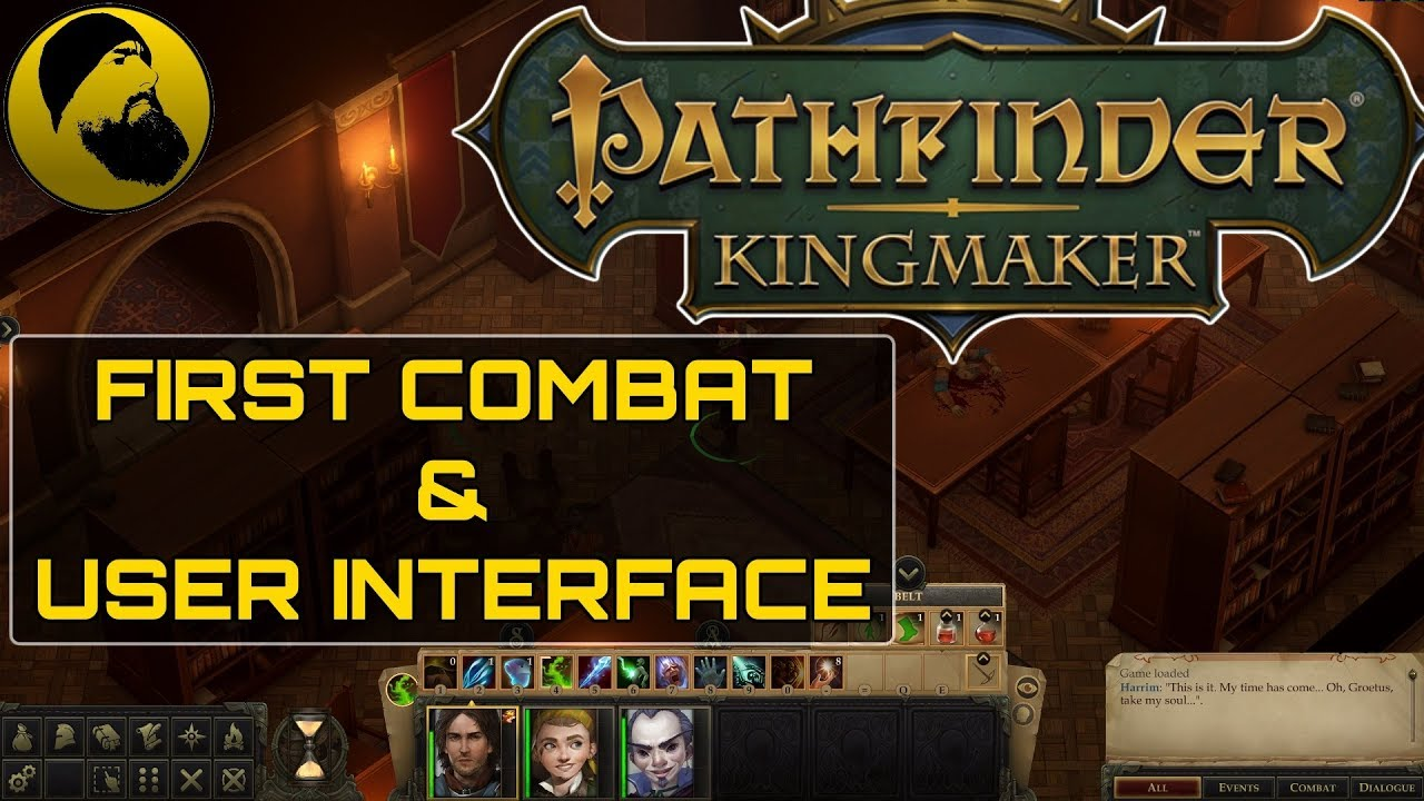 Pathfinder: Kingmaker - Interface and first combat guide