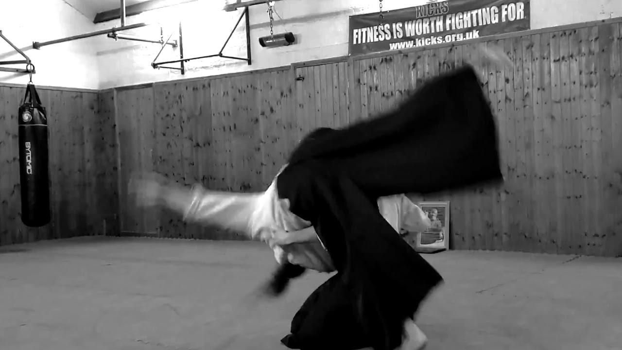 Aikido: Conan and David at Kicks, February 2020