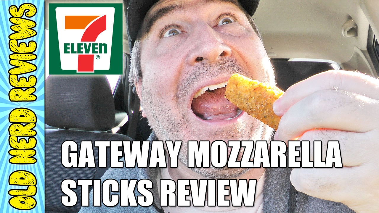 7 Eleven New Gateway Mozzarella Sticks Food Review Youtube