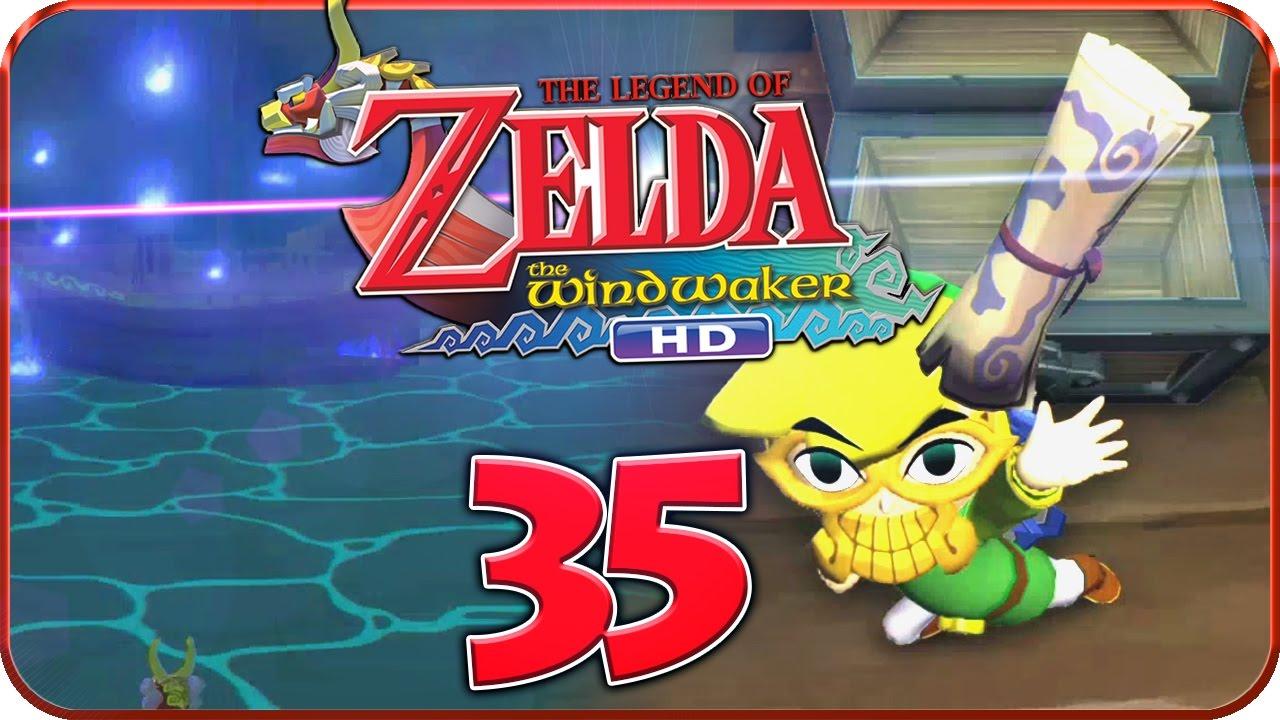 Zelda Wind Waker Karte.Let S Play Zelda The Wind Waker Hd Part 35 Geisterschiffkarte Geisterschiff Triforce Komplett
