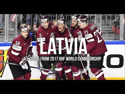 LATVIA - All 14 goals - IIHF WC 2017