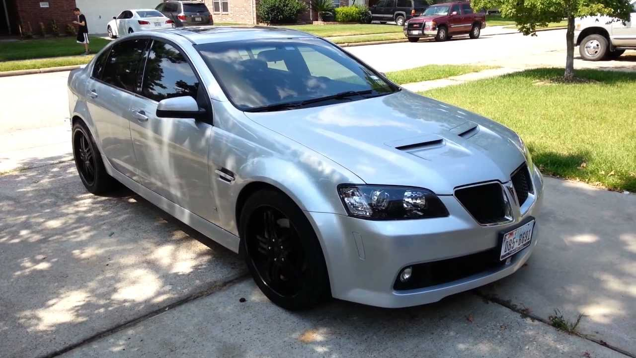my fully built and cammed pontiac g8 gt for sale or trade youtube. Black Bedroom Furniture Sets. Home Design Ideas