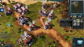 Red Alert 3 - Allied vs 5 brutal AI - FFA