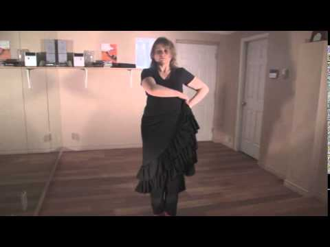 Flamenco Footwork Technical Excercise (Flamenco Dance Lessons)