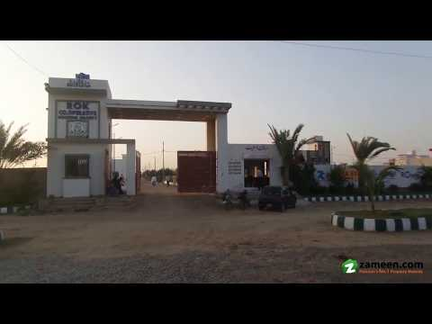 120 Sq. Yd. RESIDENTIAL PLOT FOR SALE IN ROK COOPERATIVE HOUSING SOCIETY SCHEME 33 KARACHI