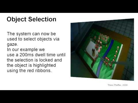 Gaze Interaction in Immersive Virtual Reality - 3D Eye Tracking in Virtual Worlds