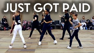 Just Got Paid - Sigala feat Ella Eyre & Meghan Trainor | Radix Dance Fix Season 3 | Brian Friedman C