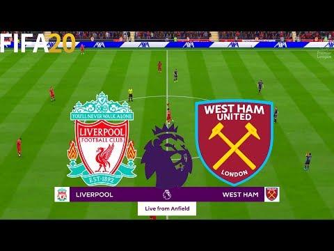 FIFA 20   Liverpool vs West Ham United - English Premier League - Full Match & Gameplay