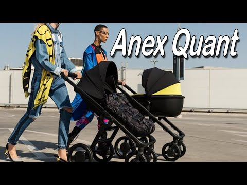 Коляска 2 в 1 Anex Quant   Обзор новинки 2019 года
