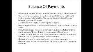 Economics Unit 2 Revision: Managing The Economy