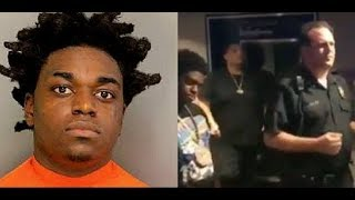 (GOOFY OF THE DAY) Kodak Black Arrested Face 20yrs Drugs & Guns Canada Border..DA PRODUCT DVD