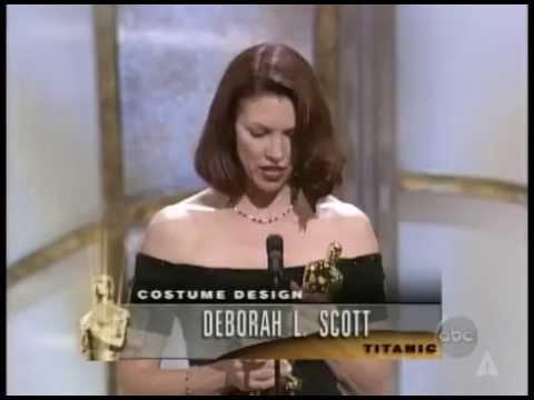 Titanic Wins Costume Design: 1998 Oscars
