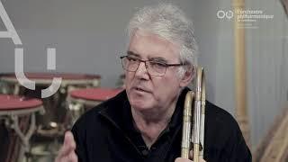 Le Philhar, un musicien : Alain Manfrin, second trombone
