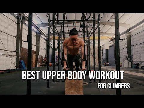 Best Upper Body Workout for Climbers (Antagonist & Agonist)