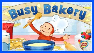 Curious George  Jorge el Curioso - Busy Bakery Funny Cooking Game For Kids English