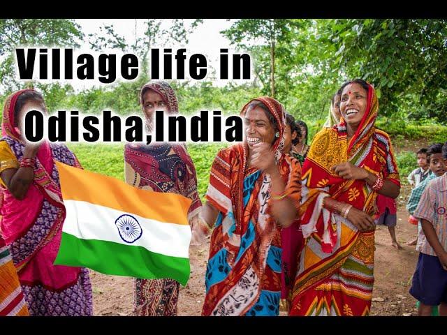 The village of Guptapada, Odisha!  🇮🇳