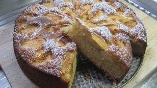 Pâtisserie - Gâteau aux pommes façon grand-mère