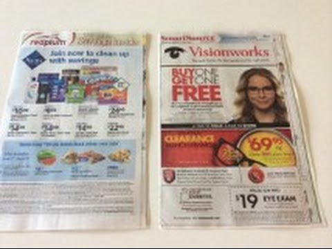 6 6 15 Coupon Insert Preview For This Sunday S Newspaper 2 Inserts 1 Redplum 1 Smartsource Youtube