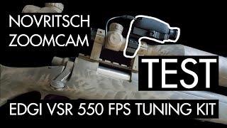 TEST: Novritsch Zoomcam & VSR with NEW EdGi tuning kit