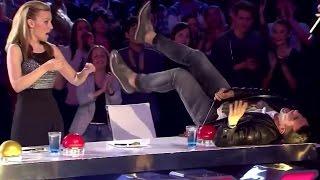 SEXI & UNEXPECTED Auditions EVER Make Judges JAW Drop & Go CRAZY! + 10 Sec Prank BONUS  )