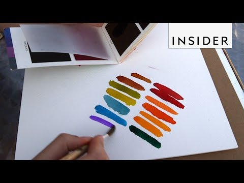 Pocket-sized Watercolor Paints