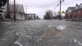 Inondation à Saint-Clet