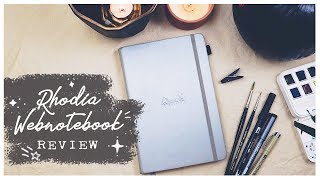 Rhodia Webnotebook Review: SHOULD YOU BUY IT?  In-Depth Bullet Journal Notebook Review