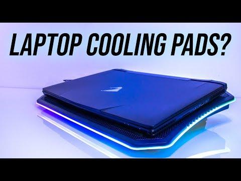 Laptop Cooling Pad Testing - Thermaltake Massive 20 RGB Review