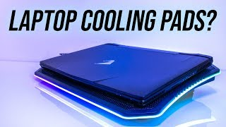 Laptop Cooling Pad Testing - Thermaltake Massive 20 RGB Review