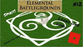 Spirit-Bending! | Roblox: Elemental Battleground | #12