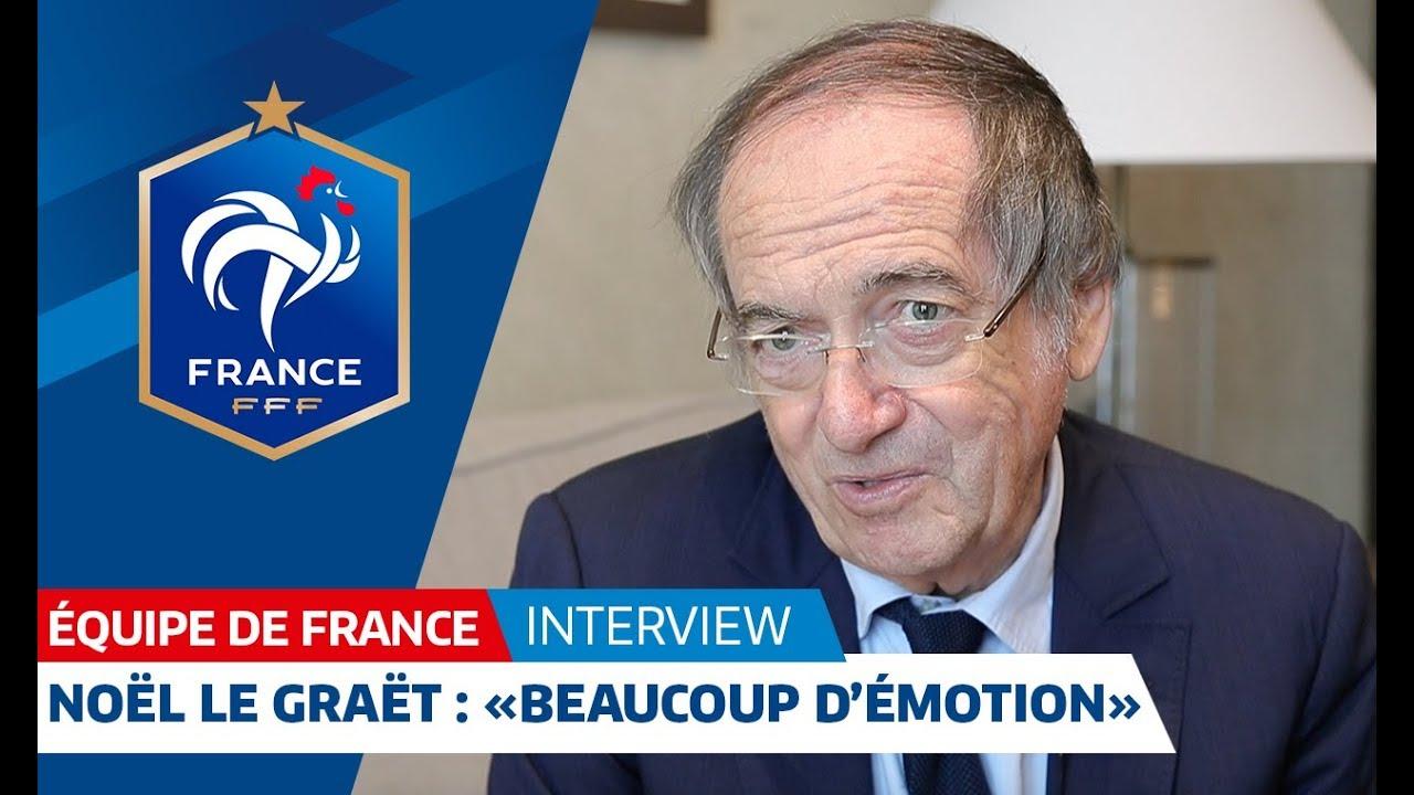 """Equipe de France, Noël Le Graët : """"Beaucoup d'émotion"""" I FFF 2018"""