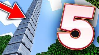 5 BUGÓW W MINECRAFT 1.13 - NIESKOŃCZONOŚĆ WAGONIKÓW!!!