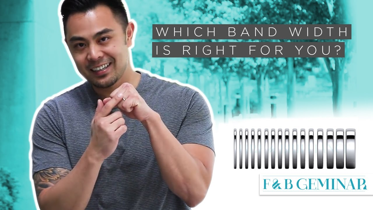c4a438432 Which Band Width for Rings & Jewelry Is Right for You? - YouTube