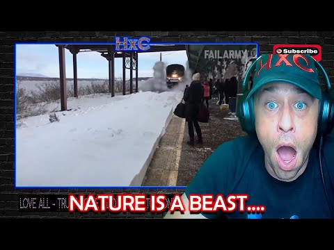 People Vs. Nature Fails: Taken Out By Wave | FailArmy Reaction!