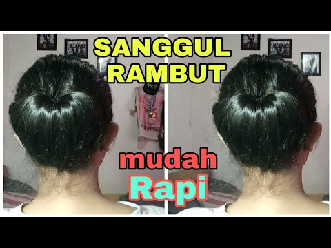 SANGGUL RAMBUT WISUDA/GRADUATION MUDAH RAPI    DESY CAHYANI LARI