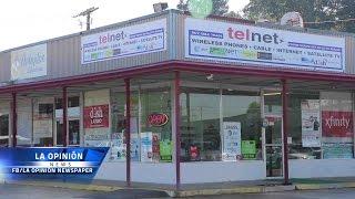 Apertura de Telnet en Little Rock.