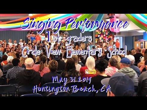 Singing Performance Circle View Elementary School May 31 2019