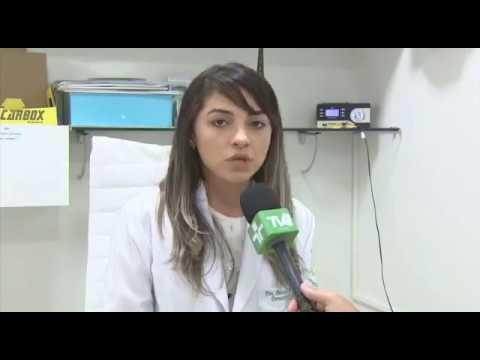 Dra. Patricia Brasil falando sobre os cuidados com a pele com a doença do piolho do pombo