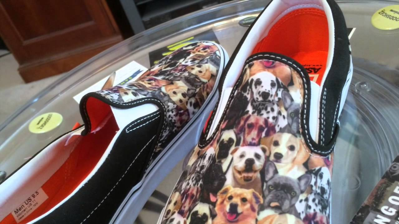 433fe065b0f Vans x ASPCA The Dogs collaboration - Sarah s kix - Slipons - general  release - 3-1-14 - YouTube