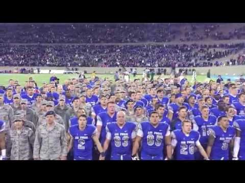 Air Force Alma Mater - Third verse after victory over CSU