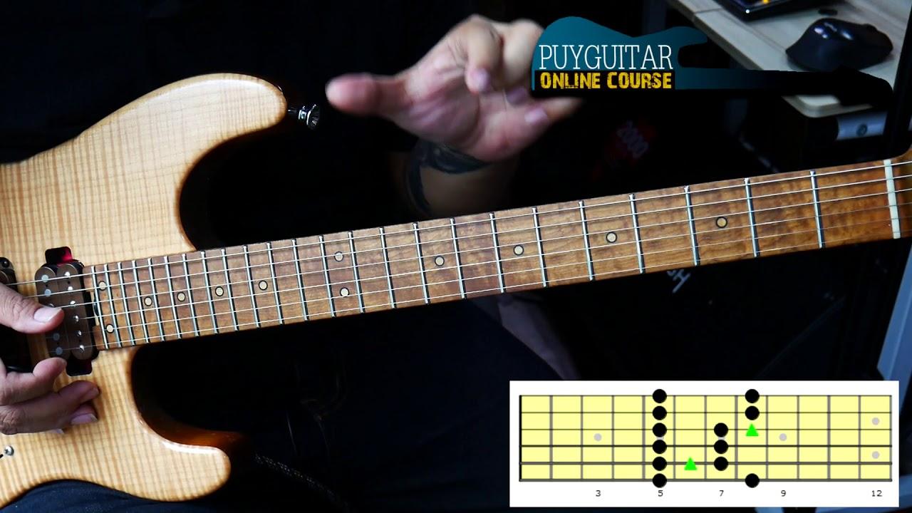 ฝึกเล่น blues ง่าย ๆ คลิปเดียว