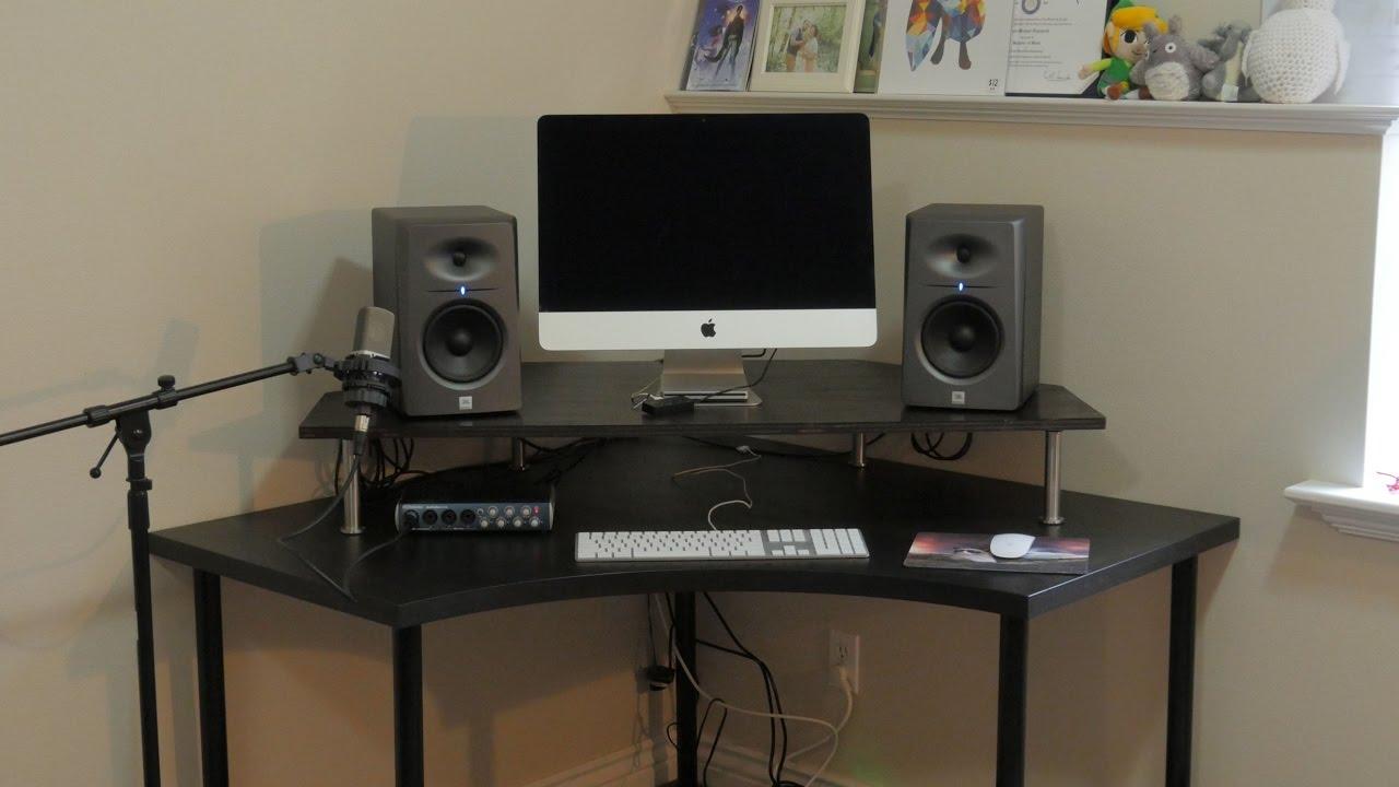 Diy Speaker Monitor Stand Youtube