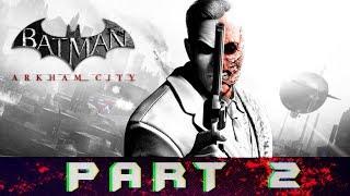 Batman: Arkham City Part 2 Scan The Crime Scene Gameplay Walkthrough [PC]
