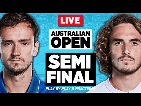 🔴 MEDVEDEV vs TSITSIPAS | Australian Open 2021 | LIVE Tennis Play-by-Play Stream